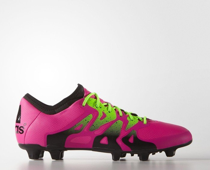 save off 81983 c67e2 adidas X15.1 FG/AG shock pink/solar green/core black (men) (S74597) from £  72.83