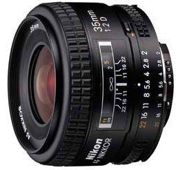 Nikon AF 35mm 2.0D black (JAA129DA)