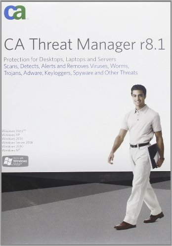 CA: Threat manager 8.1, 5 User, Update (multilingual) (PC) (EITM8105BPUEM) -- via Amazon Partnerprogramm