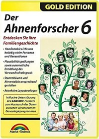 Markt+Technik Der Ahnenforscher 6 (deutsch) (PC)