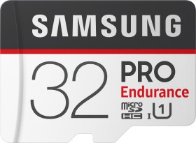 Samsung PRO Endurance R100/W30 microSDHC 32GB Kit, UHS-I U1, Class 10 (MB-MJ32GA/EU)
