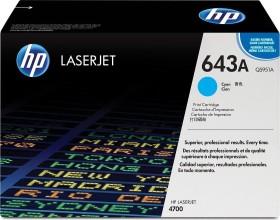 HP Toner 643A cyan (Q5951A)