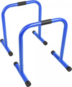 Gorilla Sports Push-Up Stand Bar Parallettes blau (100829-00030)