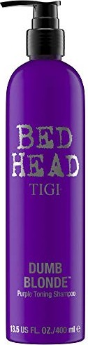 Bed Head Tigi Dumb Blonde Purple Toning Shampoo 400ml -- via Amazon Partnerprogramm