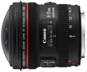 Canon EF 8-15mm 4.0 L fisheye black (4427B005)