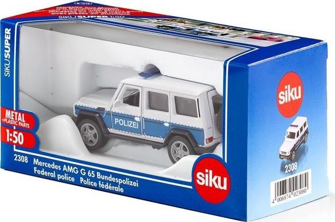 SIKU Super 1//55 2308 Mercedes-AMG G 65 Bundespolizei NEU OVP