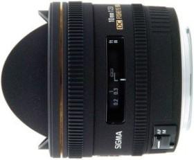 Sigma AF 10mm 2.8 EX DC HSM Diagonal Fisheye für Canon EF schwarz (477954)