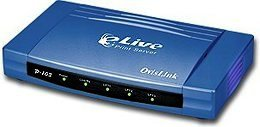 OvisLink eLive P-103 3-Port Print Server
