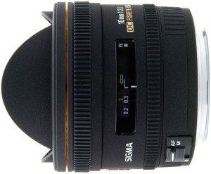 Sigma AF 10mm 2.8 EX DC HSM diagonal fisheye for Nikon F black (477955)