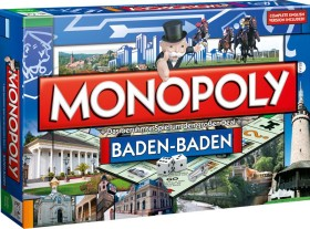 NEU Winning Moves 40682 BADEN-BADEN MONOPOLY