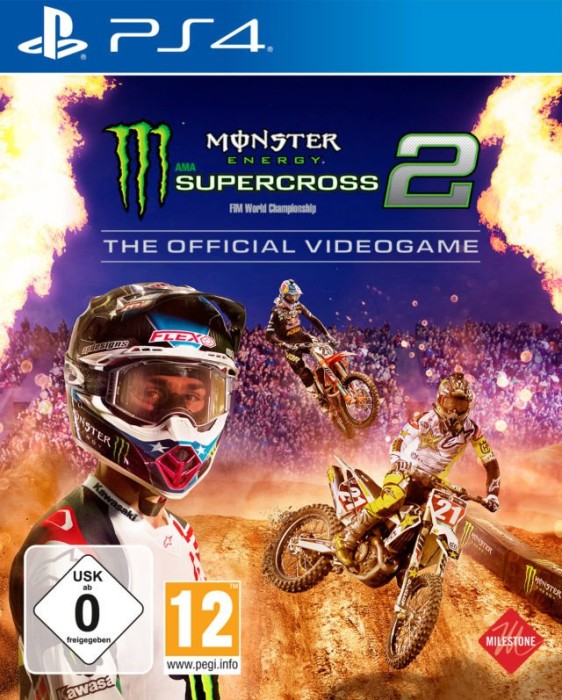 monster Energy Supercross 2: The official Videogame (English) (PS4)