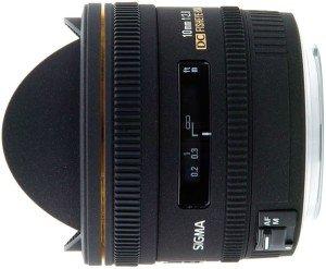 Sigma AF 10mm 2.8 EX DC HSM diagonal fisheye for Sigma black (477956)