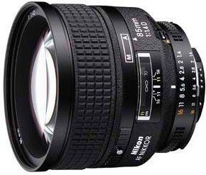 Nikon AF 85mm 1.4D schwarz (JAA332DA)