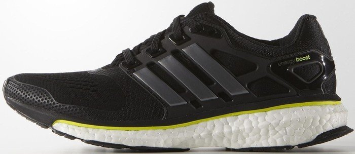 97d49f121f33f adidas Energy Boost ESM core black solar yellow (Damen) (B23159)