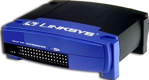 Linksys EtherFast 10/100 EZXS16W, 16-Port