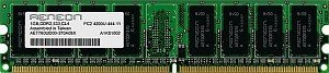 Aeneon DIMM 1GB, DDR2-800, CL5 (AET760UD00-25D)