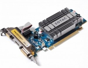 Zotac GeForce 8400 GS low profile, 1GB DDR2, VGA, DVI, HDMI (ZT-84GEL2M-HSL)