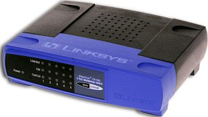 Linksys EtherFast 10/100 EZXS55W, 5-port