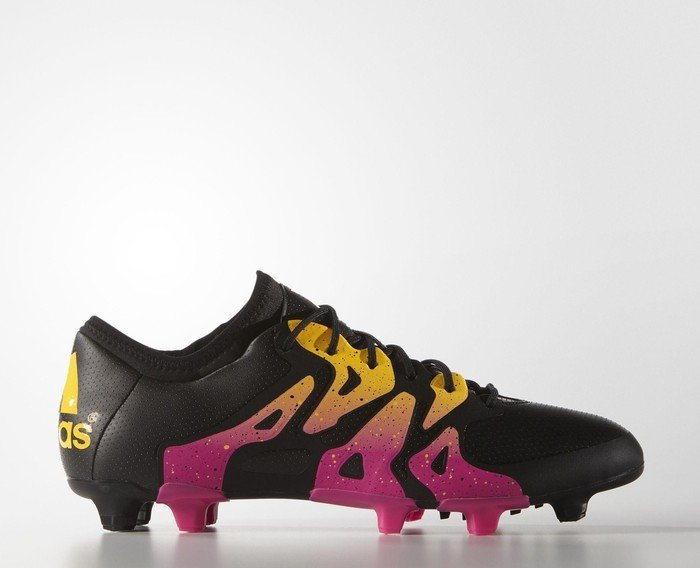 31536026c29e32 adidas X15.1 FG AG core black shock pink solar gold ab € 52