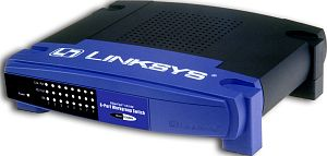Linksys EtherFast 10/100 EZXS88W, 8-Port