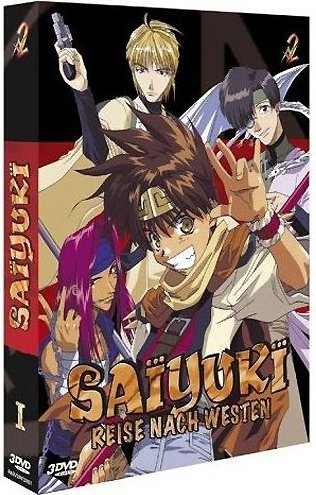 Saiyuki Season 1.1 -- via Amazon Partnerprogramm
