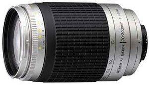 Nikon AF 70-300mm 4.0-5.6G srebrny (JAA776DA)