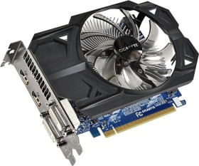 Gigabyte GeForce GTX 750 Ti Windforce OC, 1GB GDDR5, 2x DVI, 2x HDMI (GV-N75TOC-1GI)