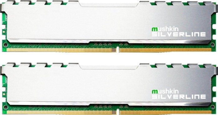 Mushkin Silverline DIMM Kit 32GB, DDR4-2133, CL15-15-15-36 (MSL4U213FF16GX2)