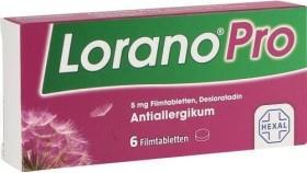 Hexal Lorano Pro 5mg Filmtabletten, 6 Stück