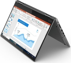 Lenovo ThinkPad X1 Yoga G5 Iron Grey, Core i5-10210U, 16GB RAM, 256GB SSD, IR-Kamera, LTE, NFC, Eingabestift, 1920x1080, UK (20UB002LUK)