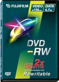 Fujifilm DVD-RW 4.7GB 2x, 5er Videobox