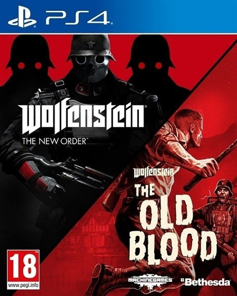 Wolfenstein - The Two Pack (PS4)