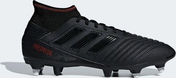 4febcf32e127 adidas Predator 19.3 SG core black/active red (men) (G26981 ...