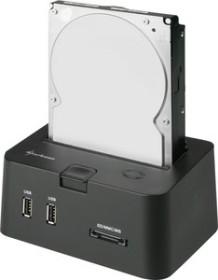 Sharkoon SATA Quickport Pro LAN, LAN/USB 2.0/eSATA (4044951009268)