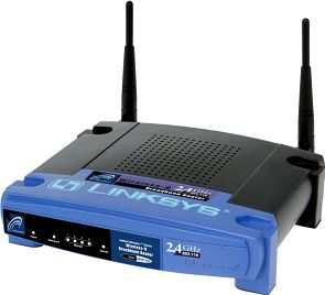 Linksys BEFW11S4 Instant Broadband Wireless-LAN AP+Cable/router DSL