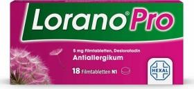Hexal Lorano Pro 5mg Filmtabletten, 18 Stück