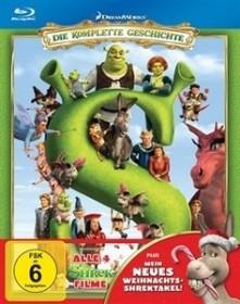 Shrek Box (Filme 1-4) (Blu-ray)