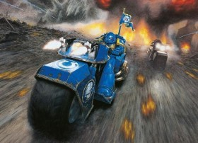 Revell Warhammer Build+Paint Space Marine Bike Attack (00082)