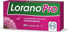 Hexal Lorano Pro 5mg Filmtabletten, 50 Stück