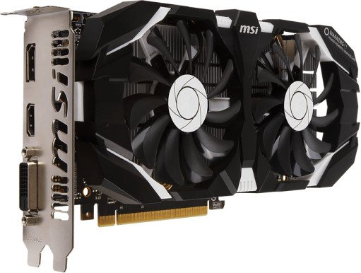 MSI GeForce GTX 1060 6GT OCV1, 6GB GDDR5, DVI, HDMI, DP (V809-2234R)