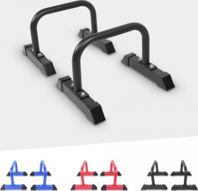 Gorilla Sports Push-Up Stand Bar Parallettes schwarz (100829-00001)