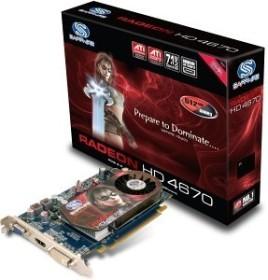 Sapphire Radeon HD 4670 ATI-Design, 512MB DDR3, VGA, DVI, HDMI, full retail (11138-13-40R)