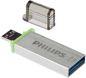 Philips USB OTG 3.0 64GB, USB-A 3.0/USB 2.0 Micro-B (FM64DA132B/10)