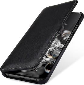 Stilgut Book Type Leather Case Clip für Samsung Galaxy S20 Ultra schwarz (B085S1N9C2)