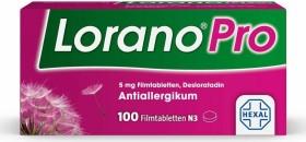 Hexal Lorano Pro 5mg Filmtabletten, 100 Stück