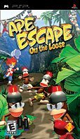 Ape Escape - On the loose (German) (PSP)