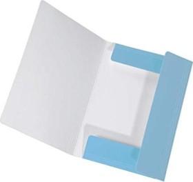 Falken Dreiflügelmappe PastellColor A4, Himmel-Blau (15068720000)