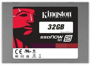 "Kingston SSDNow S50 32GB, 2.5"", SATA II (SS050S2/32G)"