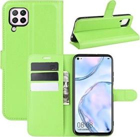 Fertuo Flip Cover für Huawei P40 Lite grün
