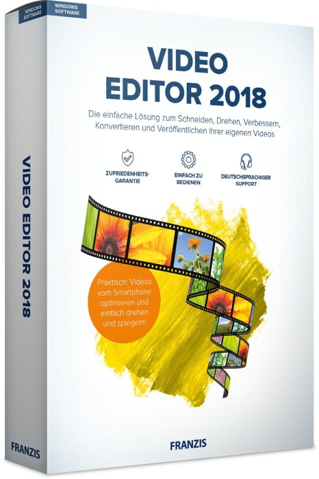 Franzis Video Editor 2018 (deutsch) (PC/MAC)